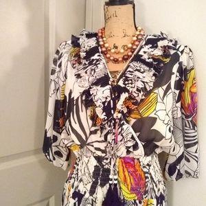 Montage by Mosaic Dresses - VTG Montage By Mosaic Dress sz M